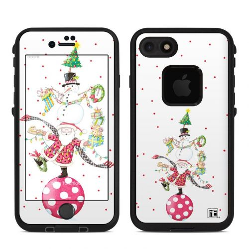 Christmas Circus LifeProof iPhone 7 fre Skin
