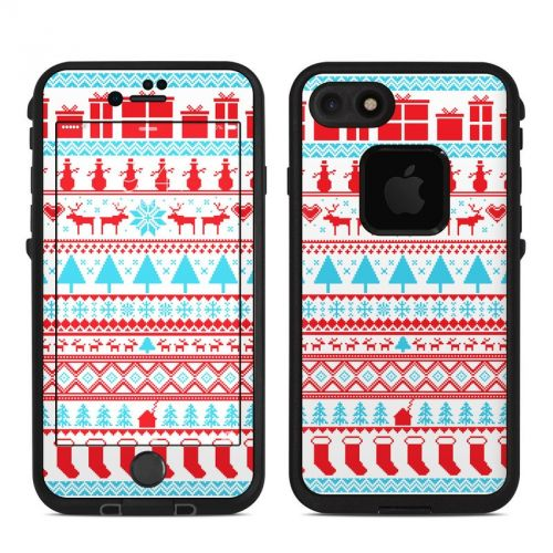 Comfy Christmas LifeProof iPhone 7 fre Skin