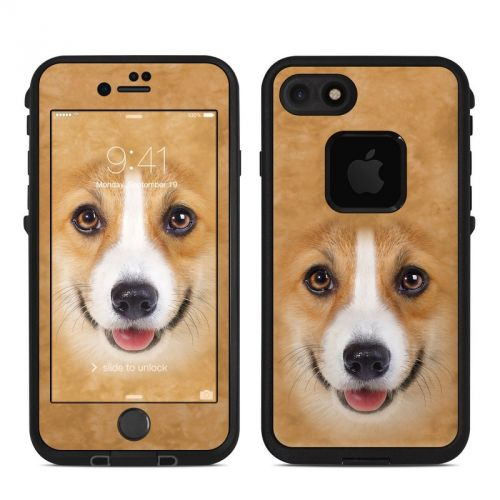 Corgi LifeProof iPhone 7 fre Case Skin
