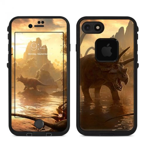 Cretaceous Sunset LifeProof iPhone 7 fre Skin