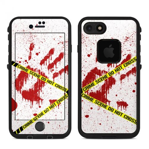 Crime Scene Revisited LifeProof iPhone 7 fre Skin