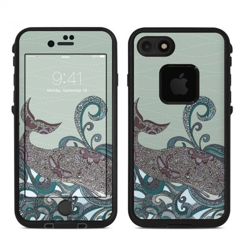 Deep Blue Me LifeProof iPhone 7 fre Skin