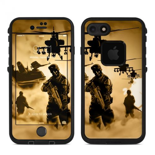 Desert Ops LifeProof iPhone 7 fre Case Skin