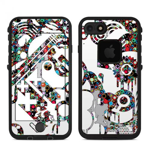 Dots LifeProof iPhone 7 fre Skin