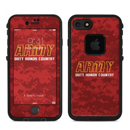 Duty and Honor LifeProof iPhone 8 fre Case Skin