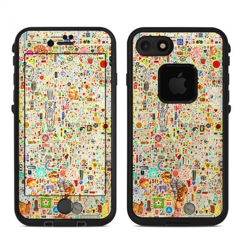 Effloresce LifeProof iPhone 8 fre Case Skin