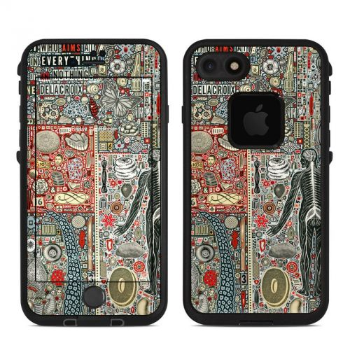 Everything and Nothing LifeProof iPhone 7 fre Case Skin