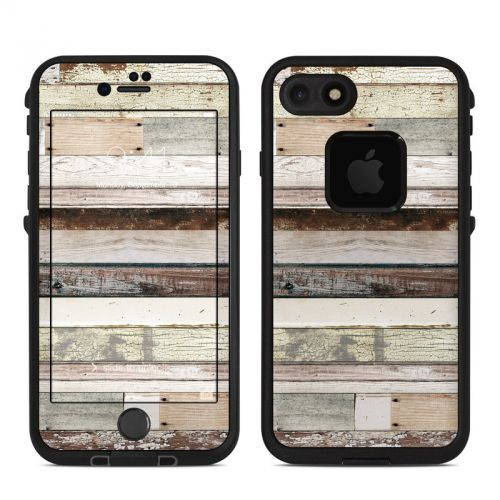 Eclectic Wood LifeProof iPhone 7 fre Skin