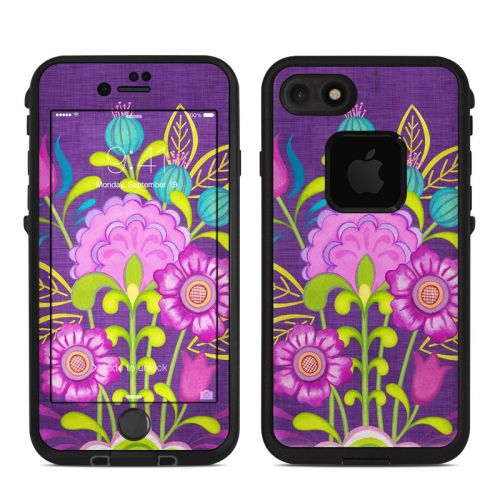 Floral Bouquet LifeProof iPhone 7 fre Skin