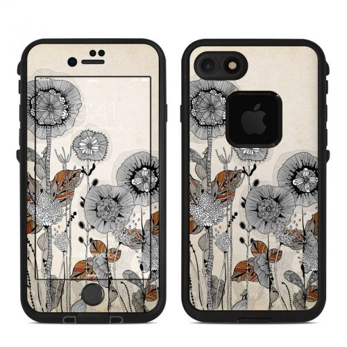 Four Flowers LifeProof iPhone 7 fre Skin