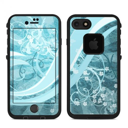 Flores Agua LifeProof iPhone 7 fre Skin