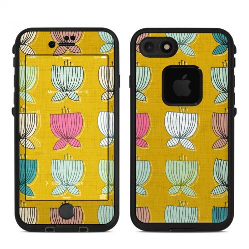 Flower Cups LifeProof iPhone 8 fre Case Skin