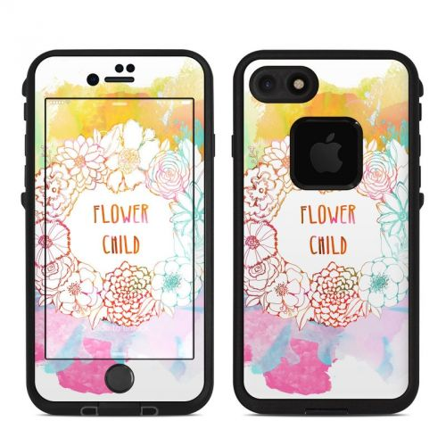 Flower Child LifeProof iPhone 7 fre Case Skin