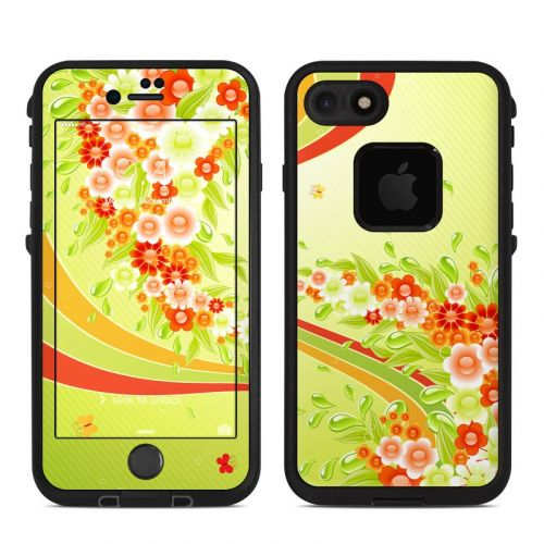 Flower Splash LifeProof iPhone 7 fre Case Skin