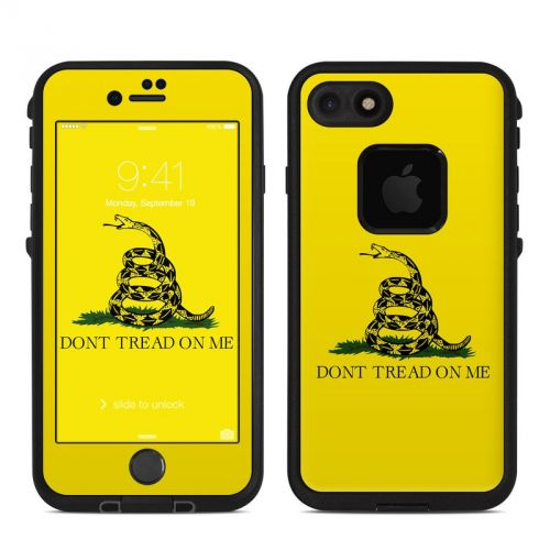 Gadsden Flag LifeProof iPhone 7 fre Skin