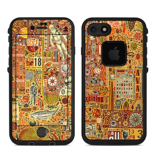 The Golding Time LifeProof iPhone 8 fre Case Skin