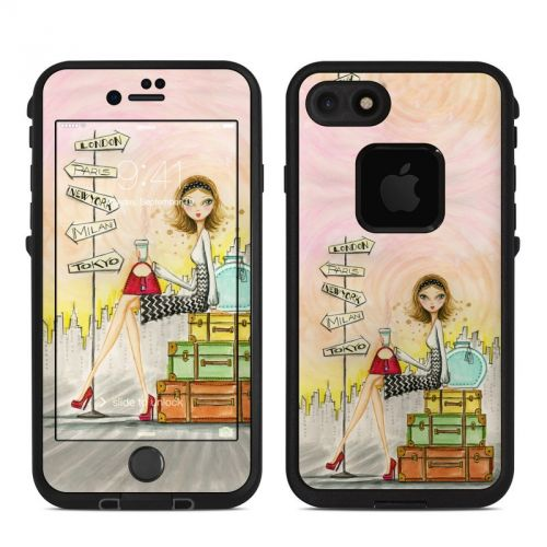 The Jet Setter LifeProof iPhone 7 fre Skin