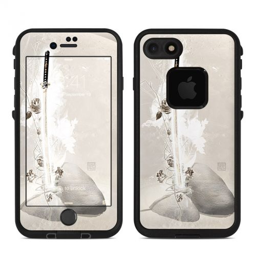Katana Gold LifeProof iPhone 7 fre Skin