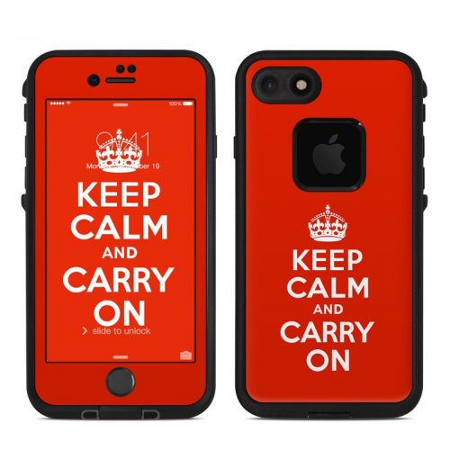 Keep Calm LifeProof iPhone 7 fre Case Skin
