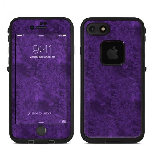 Purple Lacquer LifeProof iPhone 7 fre Skin