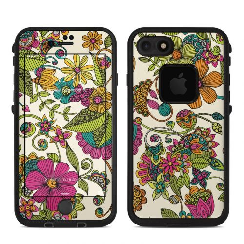 Maia Flowers LifeProof iPhone 8 fre Case Skin