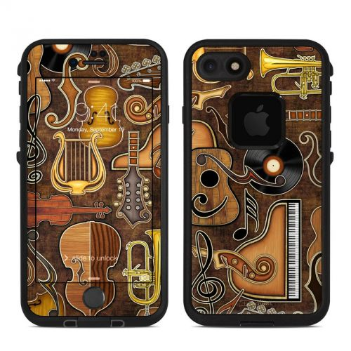 Music Elements LifeProof iPhone 7 fre Skin
