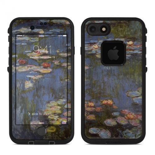 Water lilies LifeProof iPhone 7 fre Skin