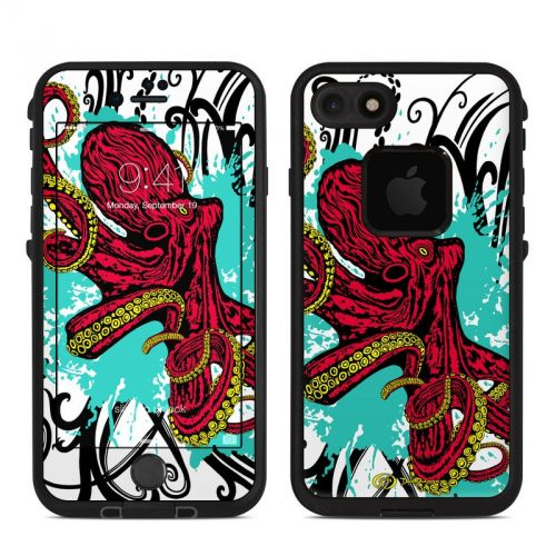 Octopus LifeProof iPhone 7 fre Case Skin