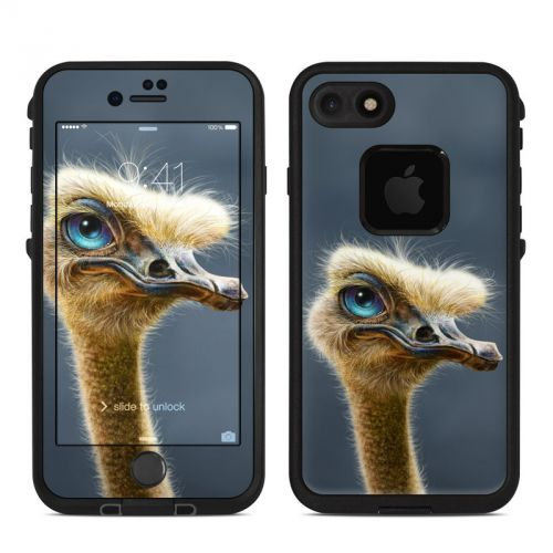Ostrich Totem LifeProof iPhone 7 fre Case Skin
