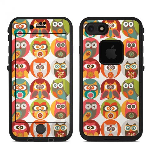 Owls Family LifeProof iPhone 7 fre Skin