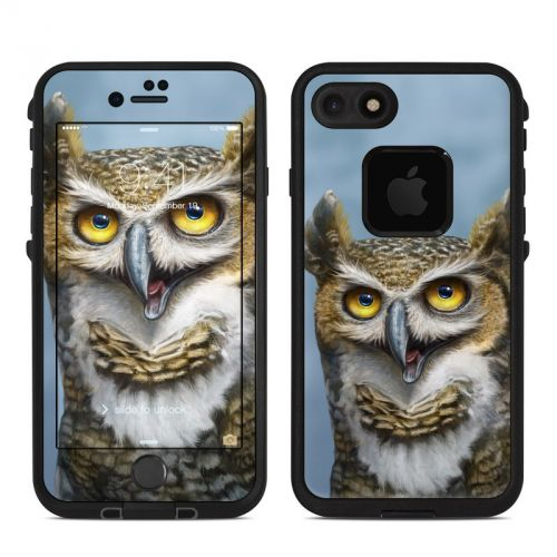 Owl Totem LifeProof iPhone 7 fre Skin