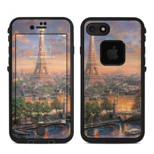 Paris City of Love LifeProof iPhone 7 fre Skin