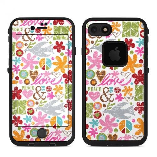 Peace Things LifeProof iPhone 8 fre Case Skin