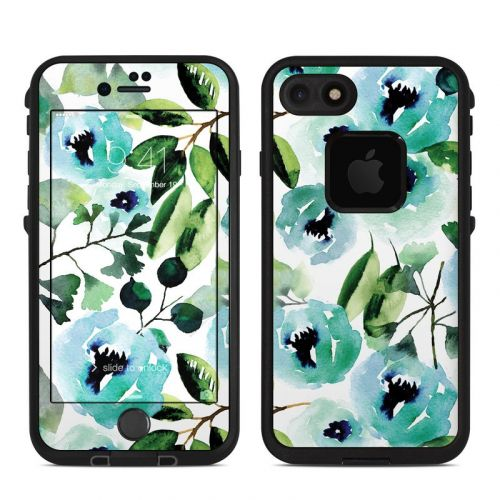 Peonies LifeProof iPhone 8 fre Case Skin