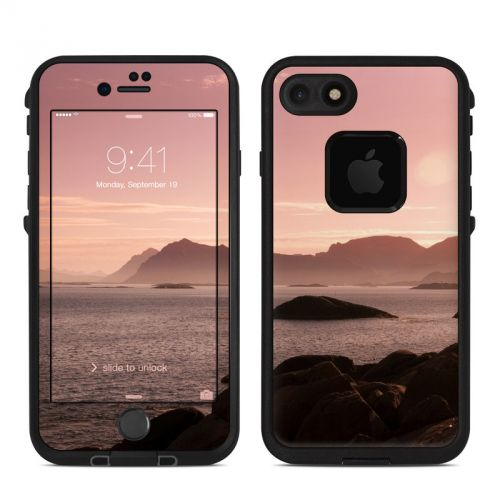 Pink Sea LifeProof iPhone 7 fre Skin