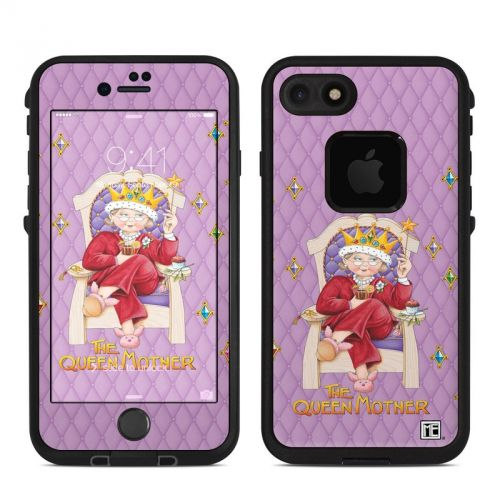 Queen Mother LifeProof iPhone 7 fre Skin