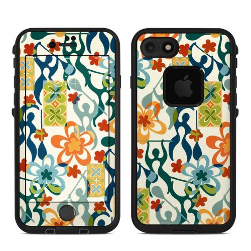 Retro Paddlers LifeProof iPhone 8 fre Case Skin