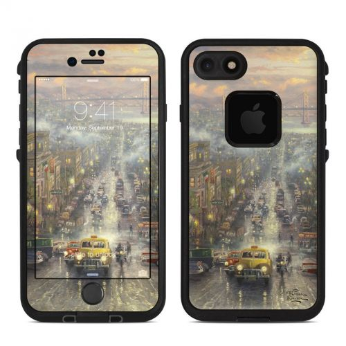 Heart of San Francisco LifeProof iPhone 7 fre Case Skin