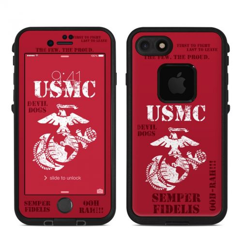 Semper Fi LifeProof iPhone 7 fre Skin