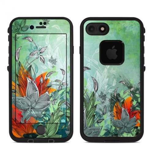 Sea Flora LifeProof iPhone 7 fre Case Skin