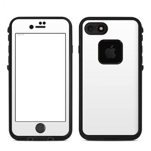 Solid State White LifeProof iPhone 8 fre Case Skin