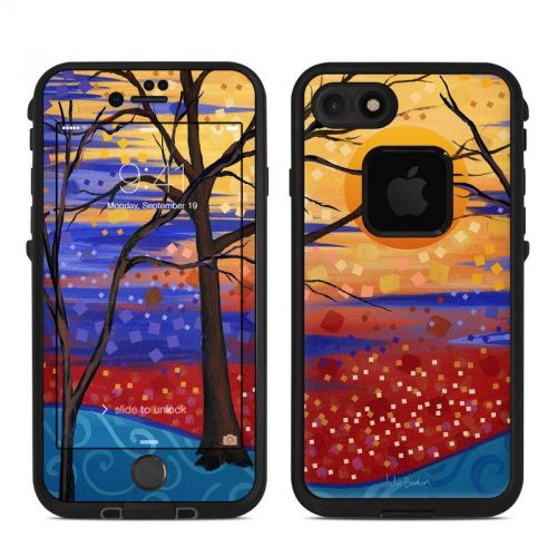 Sunset Moon LifeProof iPhone 7 fre Skin