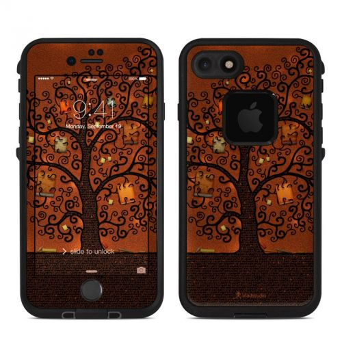 Tree Of Books LifeProof iPhone 7 fre Skin