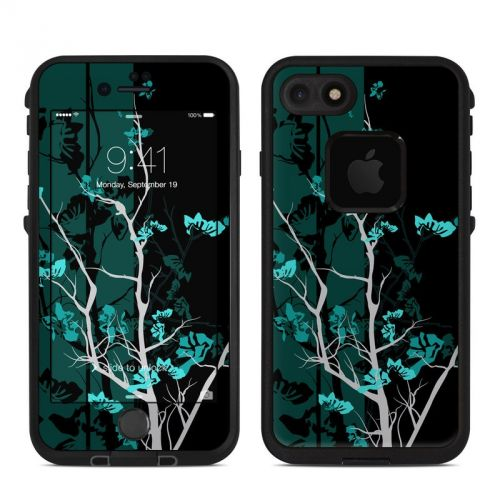Aqua Tranquility LifeProof iPhone 7 fre Skin