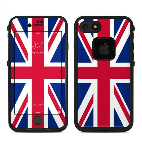 Union Jack LifeProof iPhone 7 fre Skin