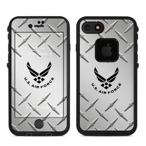 USAF Diamond Plate LifeProof iPhone 8 fre Case Skin