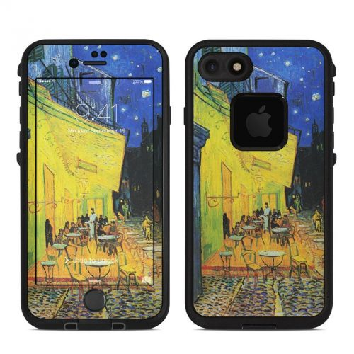 Cafe Terrace At Night LifeProof iPhone 7 fre Skin