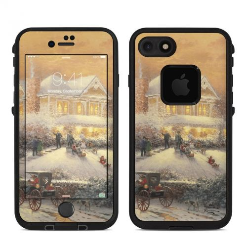 Victorian Christmas LifeProof iPhone 7 fre Skin