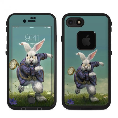 White Rabbit LifeProof iPhone 7 fre Skin