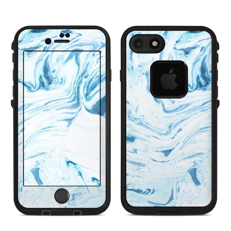 Azul Marble LifeProof iPhone 8 fre Case Skin